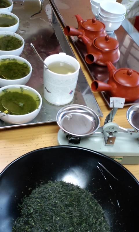新茶と熟成